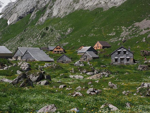 horská vesnička
