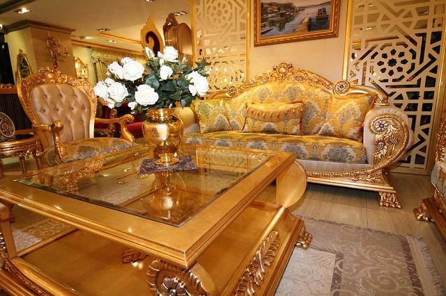 turecký nábytek