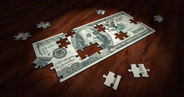 skládání bankovky
